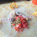 Fricassée de poulet, carottes & petits pois (recette du chef yves camdeborde)