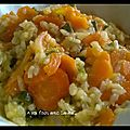 Risotto courgette carotte 4 sp