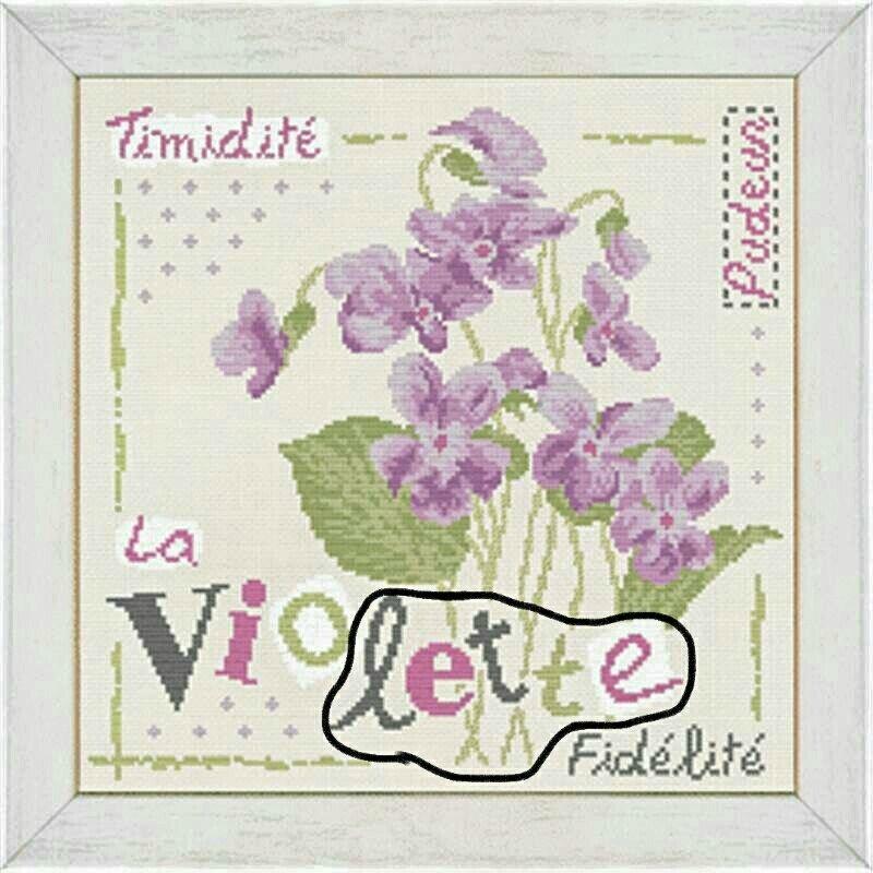 2 ème étape lili point violette