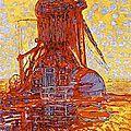 1908_Le moulin au soleil_Mondrian(jeunesse)