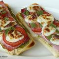 Tartines jambon et asperges (8 pp)