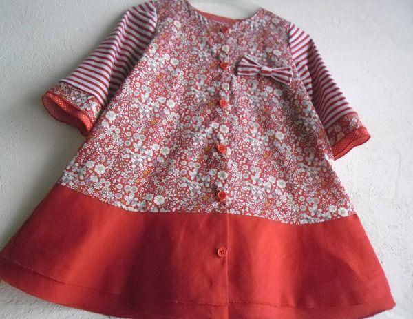 La petite fille en rouge … (Défi Matilda Jane inside)