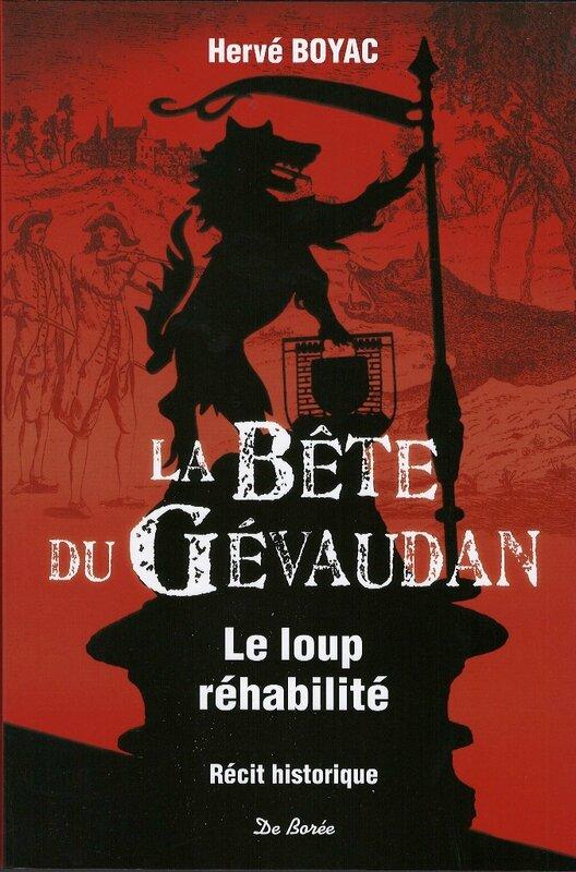 Livre La Bête du Gévaudan Hervé Boyac