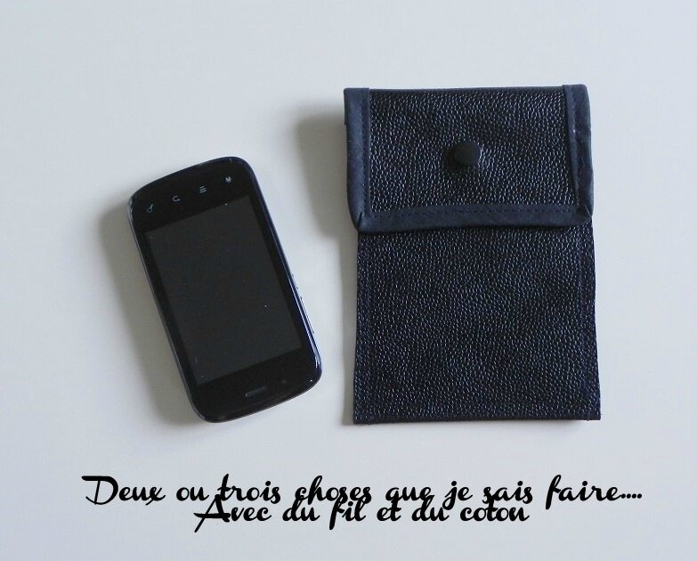 latest etui de portable cuir with comment faire une pochette de telephone 7bc70b2f423