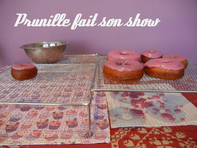 glaçage donuts prunillefee