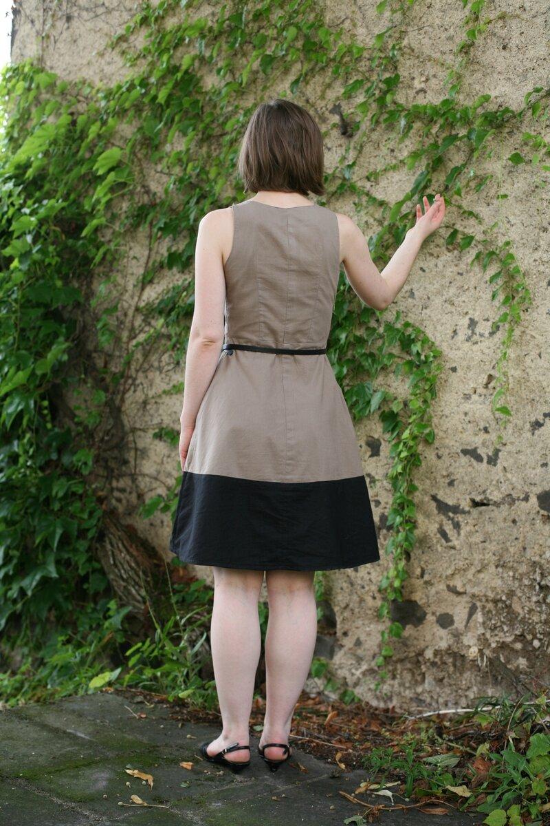 belladone + bicolore coffee date dress 030