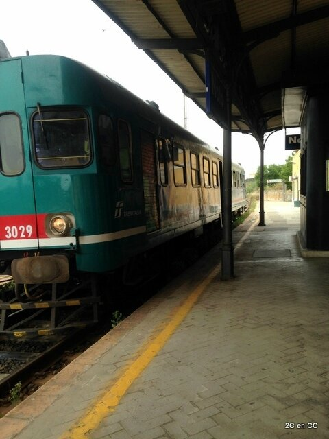Train Noto Syracuse - Sicile