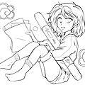 Concours de colorisation manga ink - juin 2013
