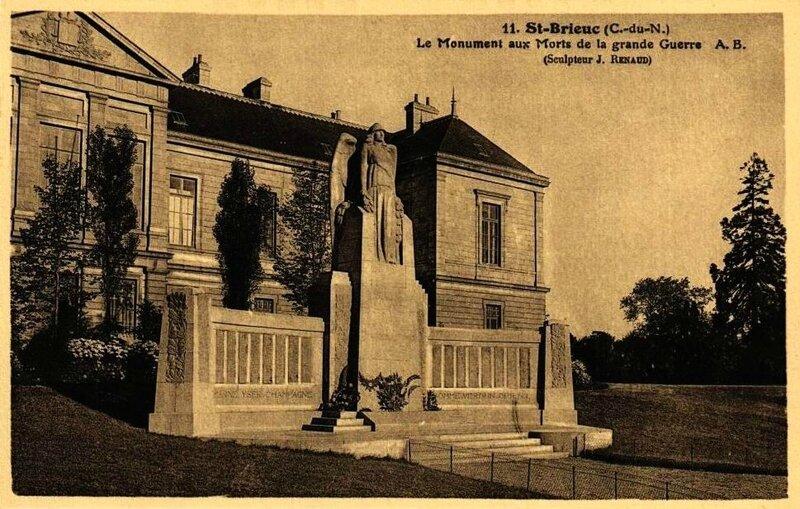 Monument aux morts St Brieuc