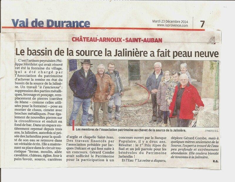 la jalinière 23 décembre 2014