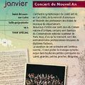 Concert du nouvel an à saint-brisson-sur-loire
