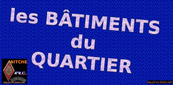 les BATIMENT du QUARTIER 001