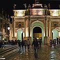 La Rue Héré et son Arc de triomphe