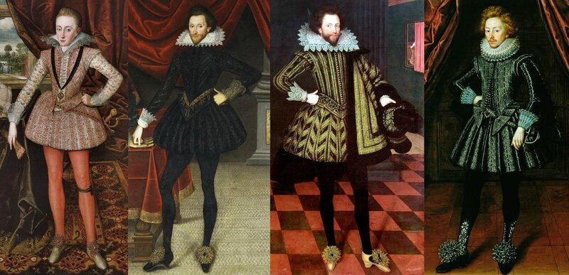 Trousses anglaises années 1610