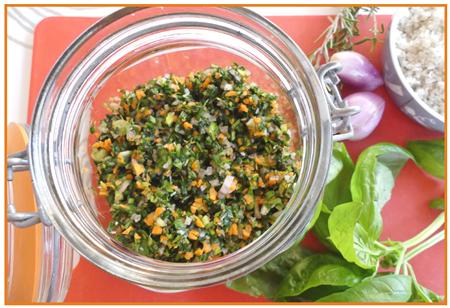 herbes fraîches au sel10