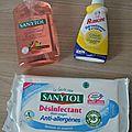 Nouveaux partenaires - sanytol et rubigine