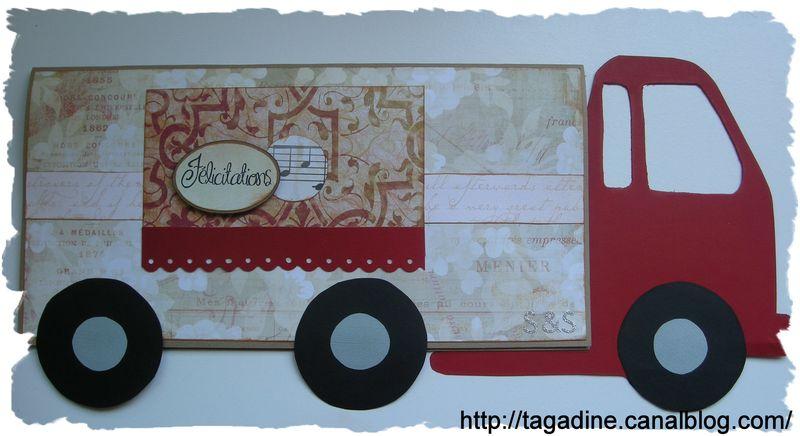 carte camion le monde des loisirs cr atifs de tagadine. Black Bedroom Furniture Sets. Home Design Ideas