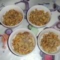 Poulet au curry et noix de cajou