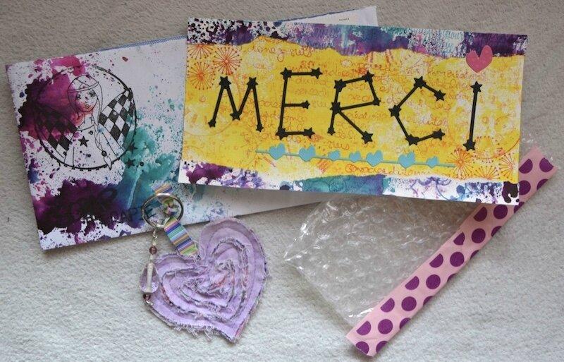 Carte de remerciement + Cadeau pour anniblog de Batchaka