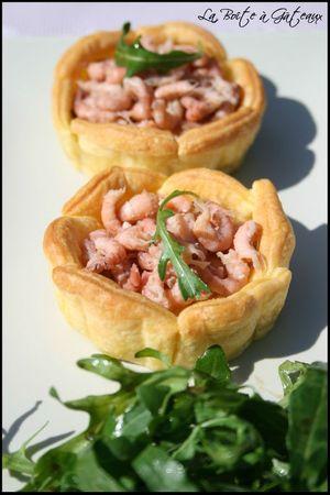 Tartelettes Crevettes