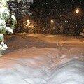 Il neige en bulgarie......