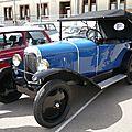 CITROËN 5HP 1922 Torpédo Trèfle Châtenois (2)