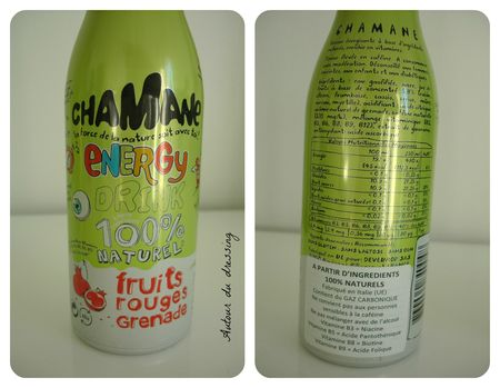 chamane energy drink naturel test