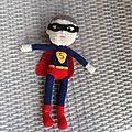 Gros super man au crochet