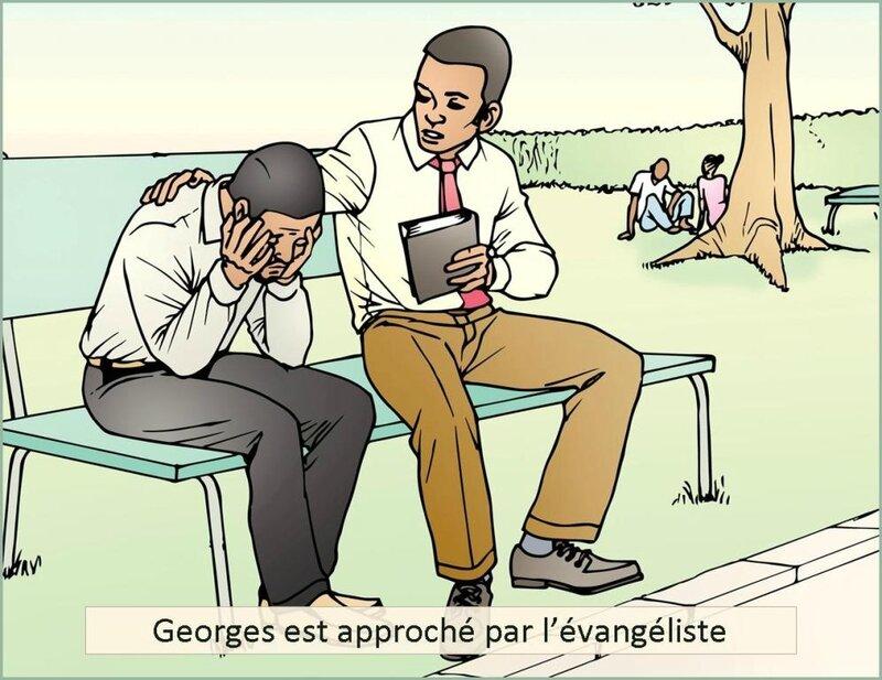 georges et l-evangeliste-nouvelle-littéraire-chrétienne-confessions troublantes de Georges