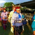 Osages en tenues de crmonie (Pawhuska et Hominy - juin 2006)