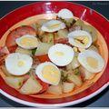 Salade t.o.p sauce mona