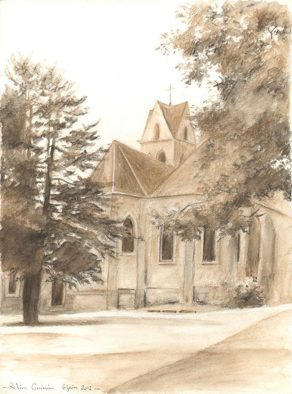 Église de Vaux-le-Pénil (basse)