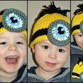 Un bonnet minion pour mon petit mignon