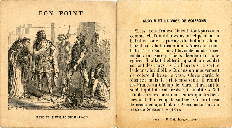 bon point vase de Soissons