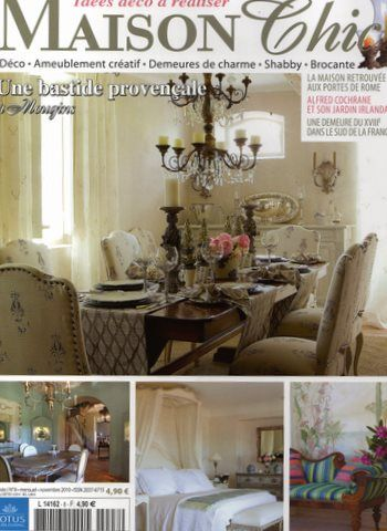 Maison chic magazine campagne chic u0026 brocu0027 for Abonnement maison chic magazine