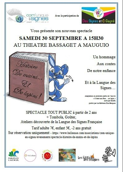 Spectacle 30 sep 2017