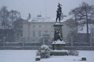 Avranches sous Prfecture neige 12 mars 2013