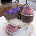 Les patisseries au crochet