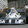 Réunion de f1 tyrrell six roues à goodwood 2012 (cpa)