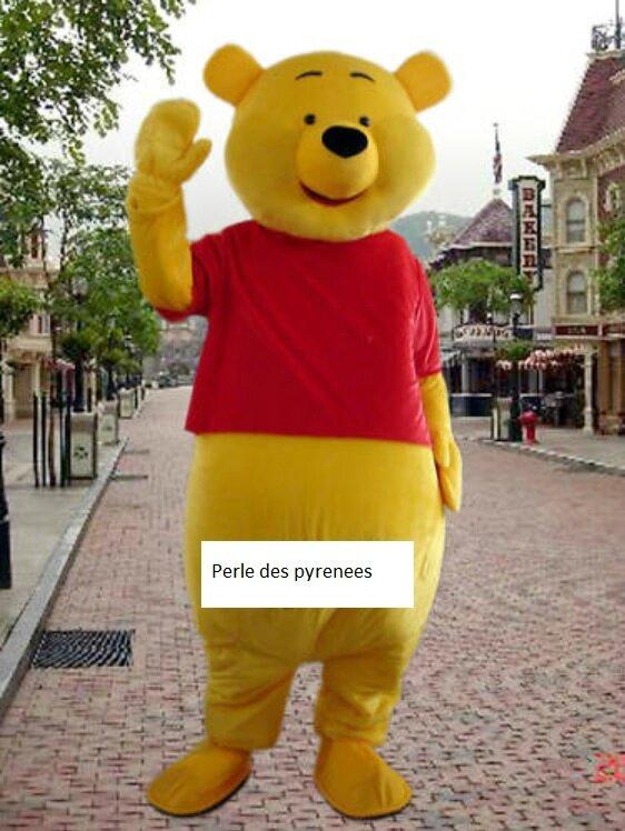 Winnie déguisement mascotte adulte neuf dispo de suite