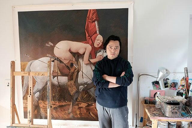Exploring Crossroads and Beauty with Wei Dong, a selling exhibition
