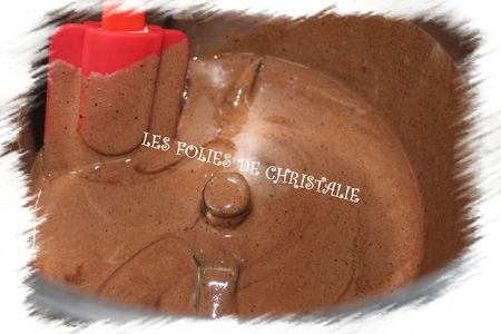 Bavarois au chocolat 5