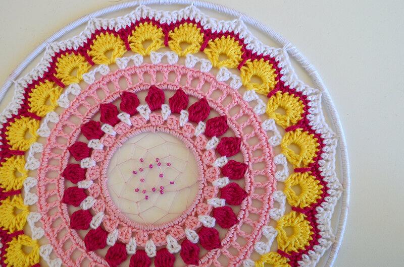 Attrape rêve-mandala -crochet-La chouette bricole (13)