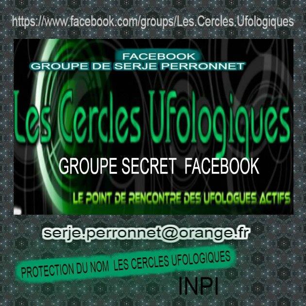logo, LES CERCLES UFOLOGIQUES DE SERJE PERRONNET facebook