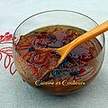 Marmelade d'oranges amères et raisins de corinthe, inspirée par sylvain