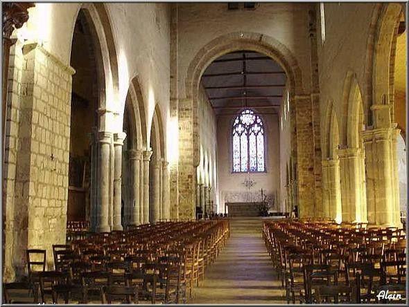 Rennes, l'Abbatiale Notre Dame en Saint Melaine