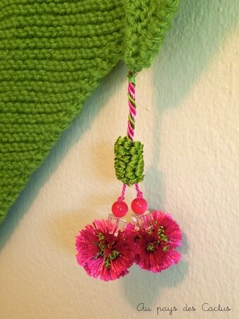 Trendy shawl bohême Au pays des Cactus 3