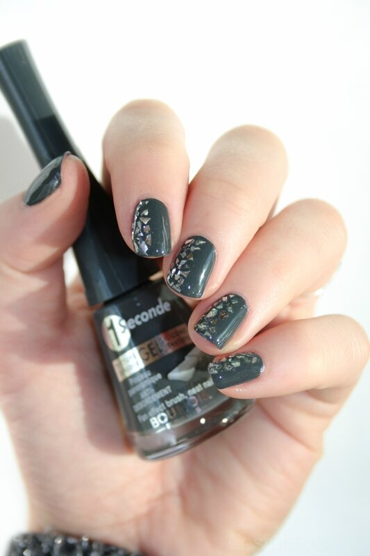 Bourjois ENCHANTING NIGHTBIRD Glitterizer Grey to meet you-7