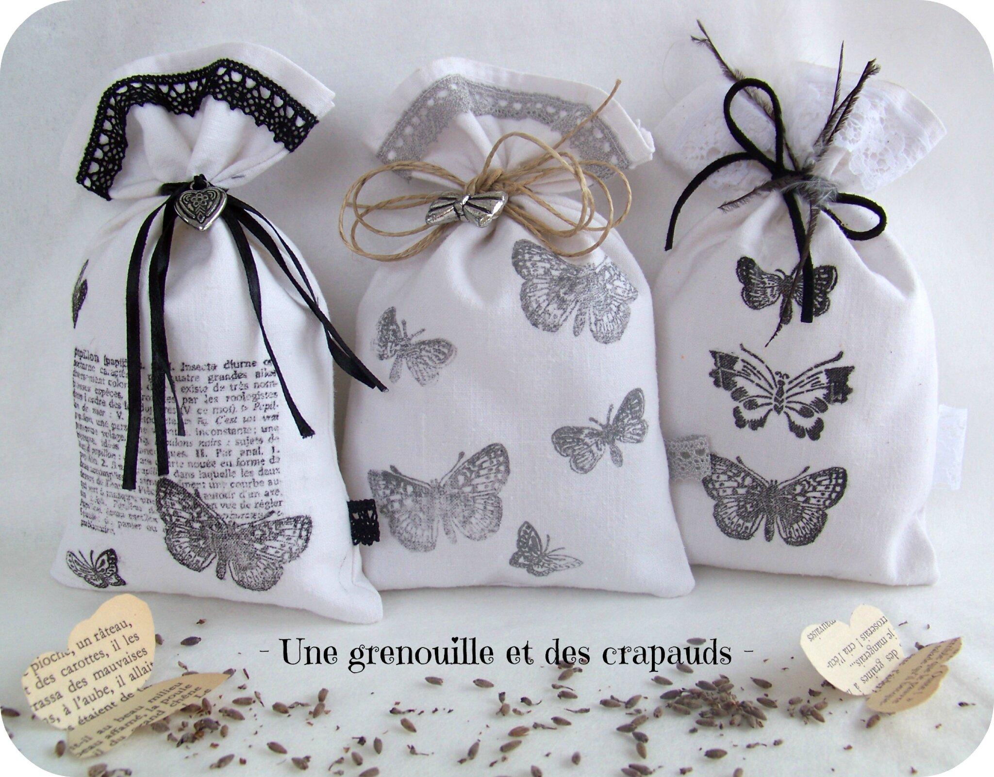 sachets de senteur butterfly le mini shop d 39 une. Black Bedroom Furniture Sets. Home Design Ideas
