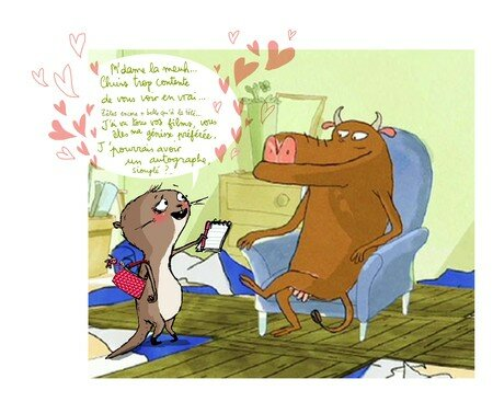 loutre_and_cow